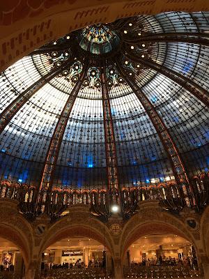 Kuppel in der Galeries Lafayette