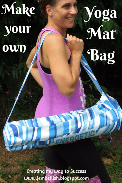 How to make your own Yoga Mag Bag