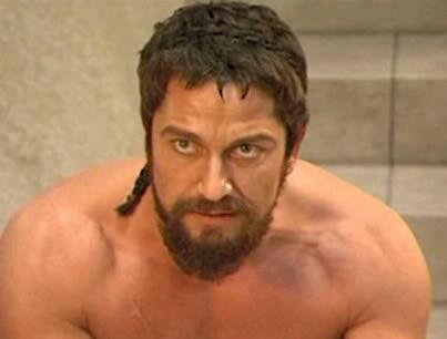300 Beard with Undercut Hairstyle
