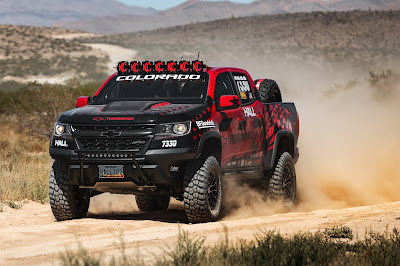 2017 Chevrolet Colorado ZR2 Competes in America's Longest Off-Road Race