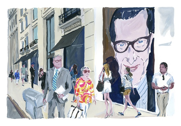 I ❤ illustration: New York por Jean-Philippe Delhomme