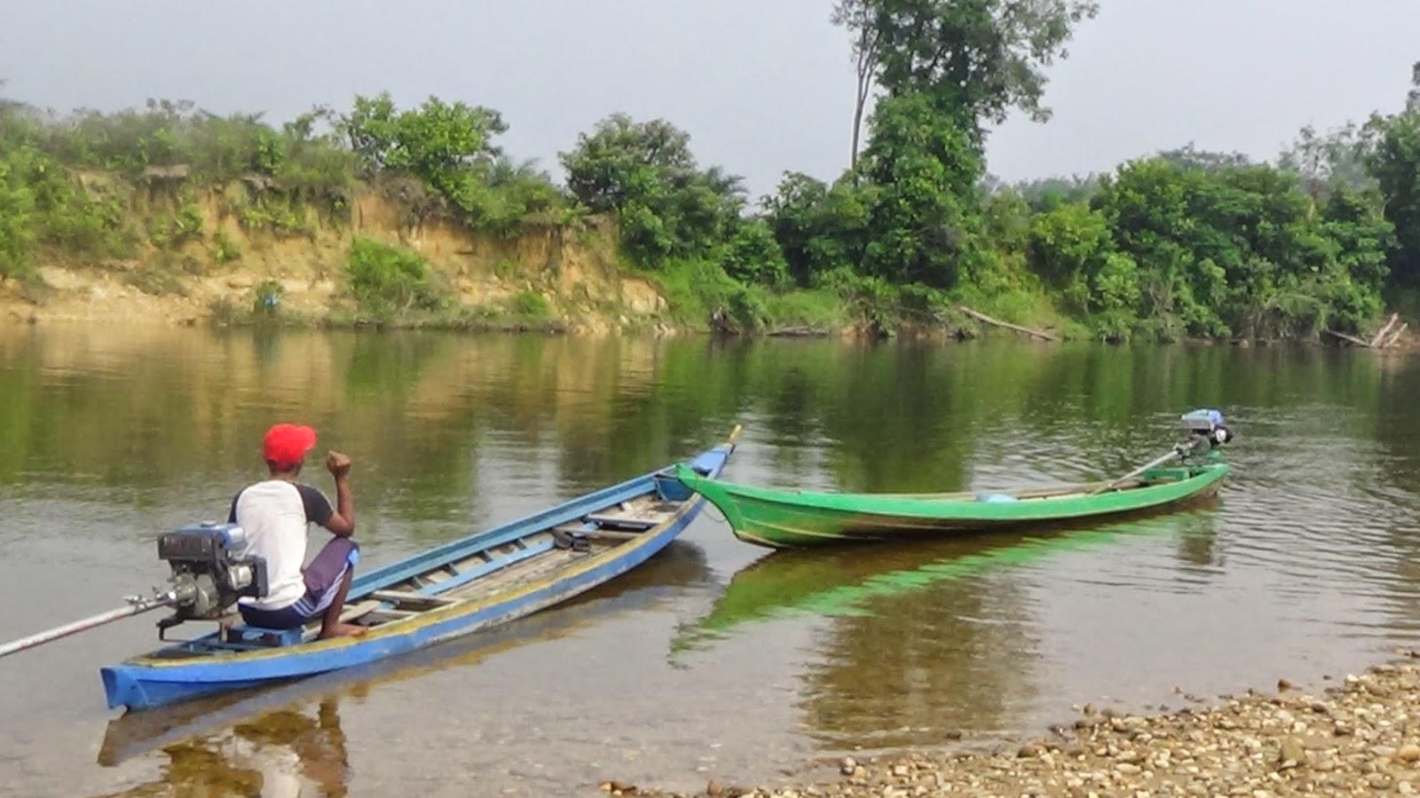 Manisnya Hidup di Tepi Sungai Sebayang, Riau
