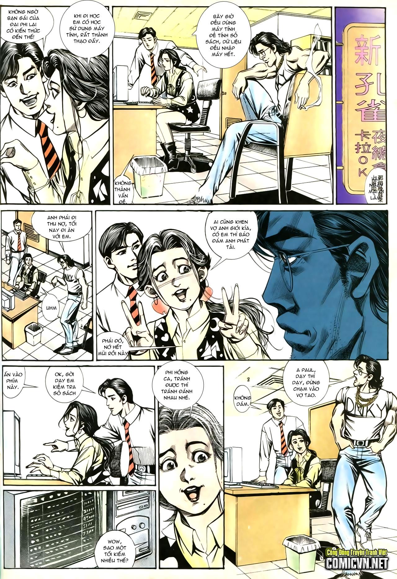 Người Trong Giang Hồ chapter 207: nhật ký đau lòng trang 5