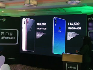 Infinix Zero 6 comes with 128GB storage: See Price and Specification