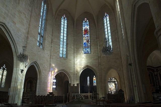 catedral de Saint Sacerdos, Sarlat la Caneda, Périgord Negro, Francia