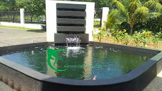 kolam koi - kolam minimalis - kolam relief