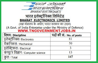 BEL-engineers-recruitment-tngovernmentjobs