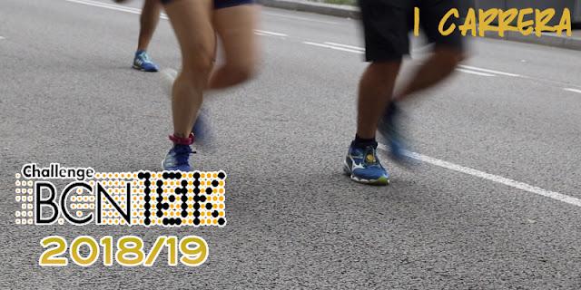 ChallengeBCN10K  2018/19 - 1 carrera