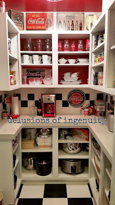 Coca Cola diy pantry how to
