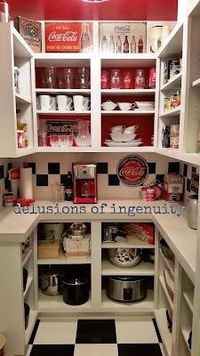 Coca Cola diy pantry how to