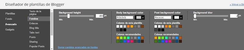 Diseñador: Alto imagen de fondo y desenfoque