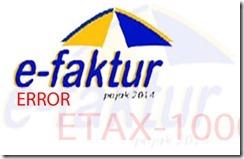 Solusi ETAX-20004 Format Angka salah
