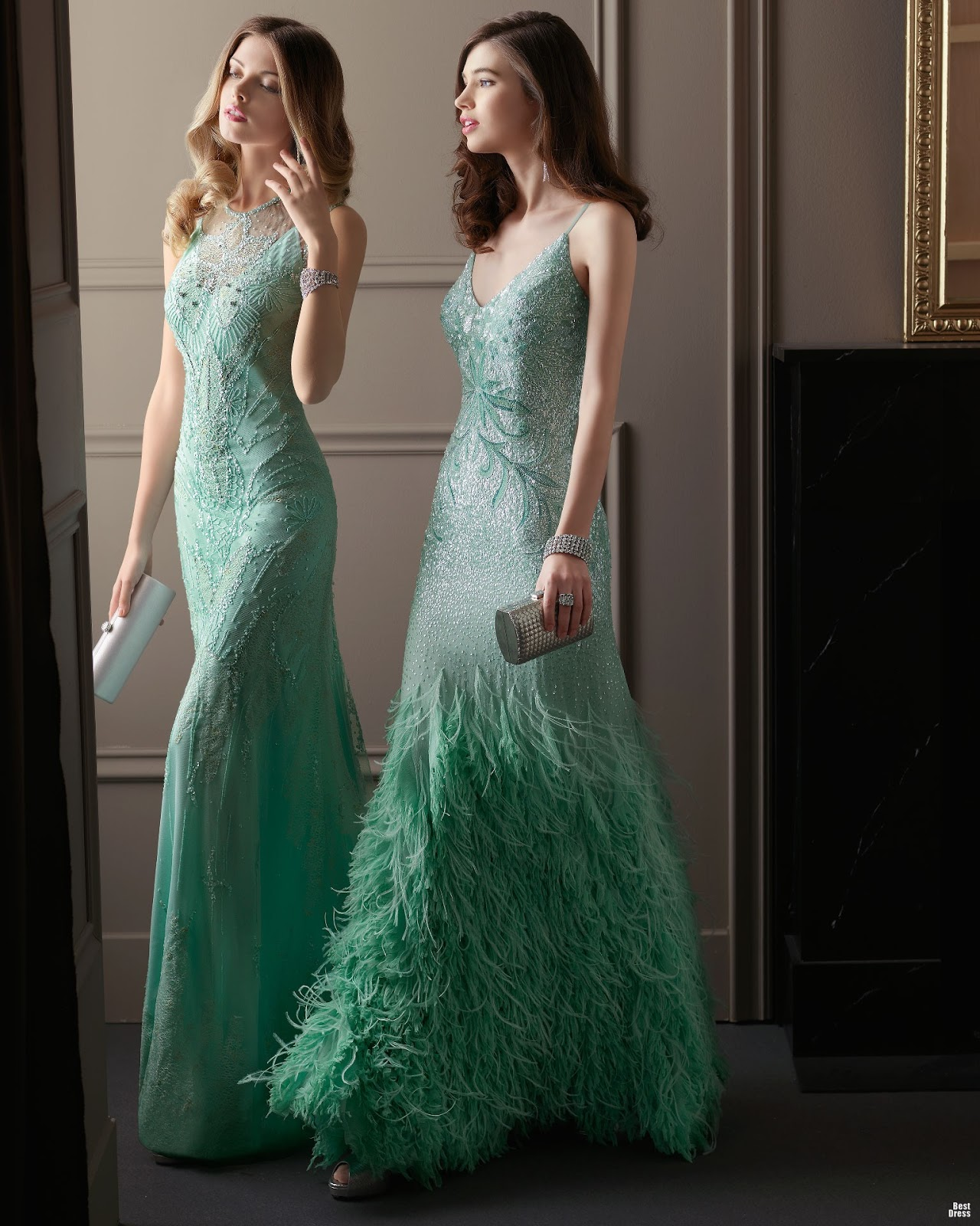 Vestidos de fiesta largos hermosos