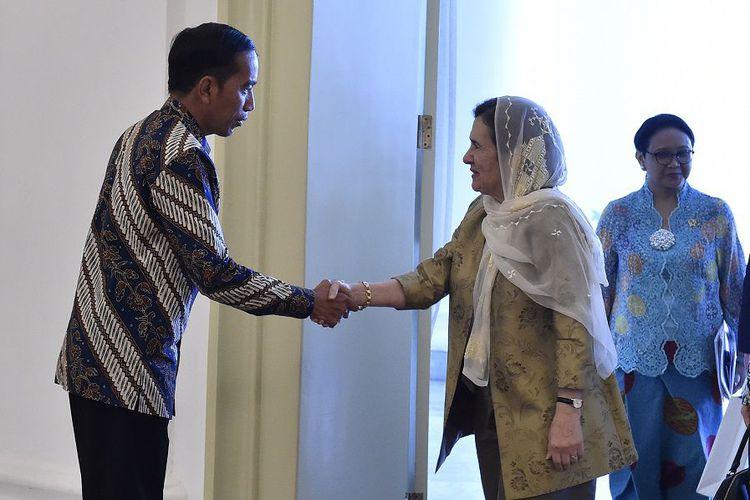 Ibu Negara Afghanistan Mengagumi Ideologi Pancasila yang Dianut Indonesia