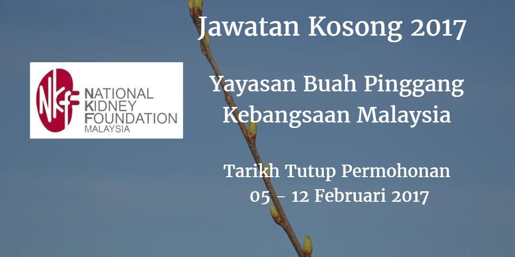 Jawatan Kosong NKF 05 - 12 Februari 2017