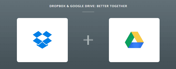 Zapier integration for Google Drive and Dropbox