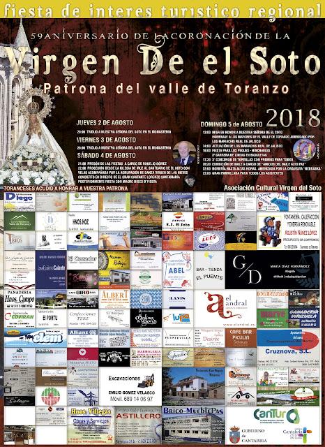 Virgen del Soto 2018 en el Valle  de Toranzo