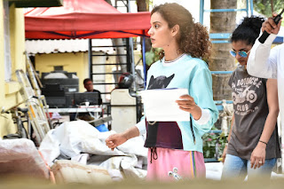 Kangana Ranaut on the Sets of 'Mental Hai Kya' Movie : Photos