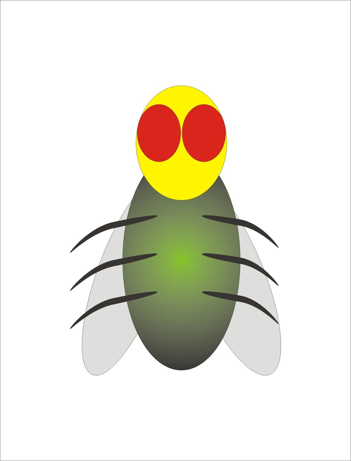 Cara Menggambar Lalat Cerita Tentang Semut