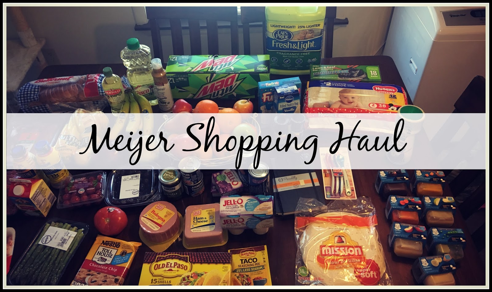 Meijer Shopping Haul | Video | | Kisha Jaggers