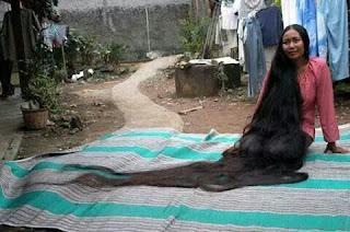 10 rambut terpanjang di dunia