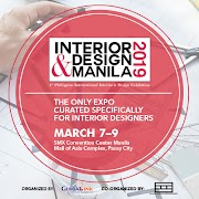 4TH INTERIOR & DESIGN MANILA 2019: Resilience of Design and Future Spaces