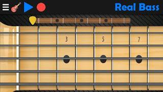 Aplikasi belajar musik terbaik Real bass