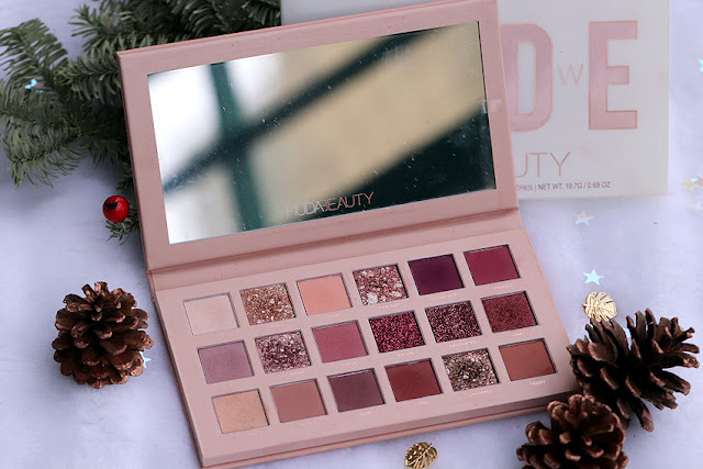 paleta cieni do powiek Huda Beauty The New Nude Palette