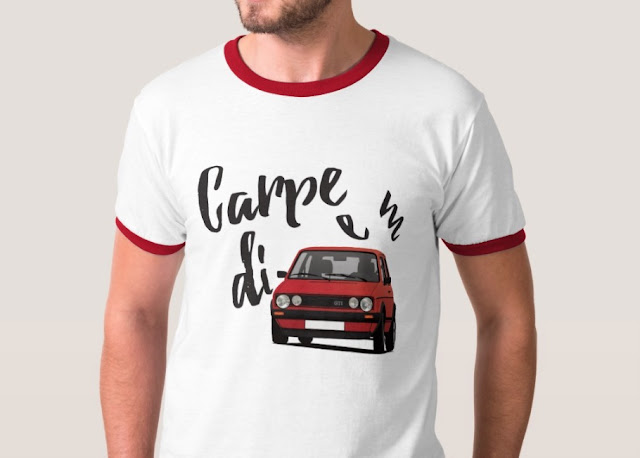 Carpe diem with Golf GTI t-shirt