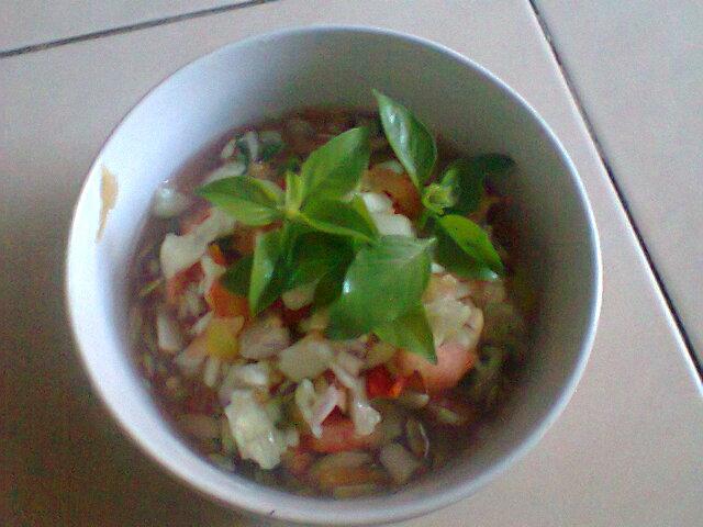 Resep Sambal Tomat Doco Toma Khas Bima (Indonesia)