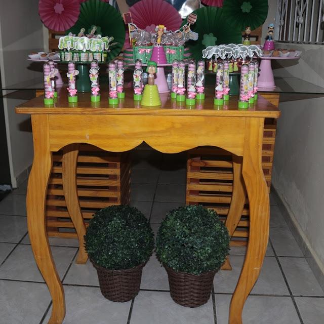 ideias decoração da mesa festa do chaves