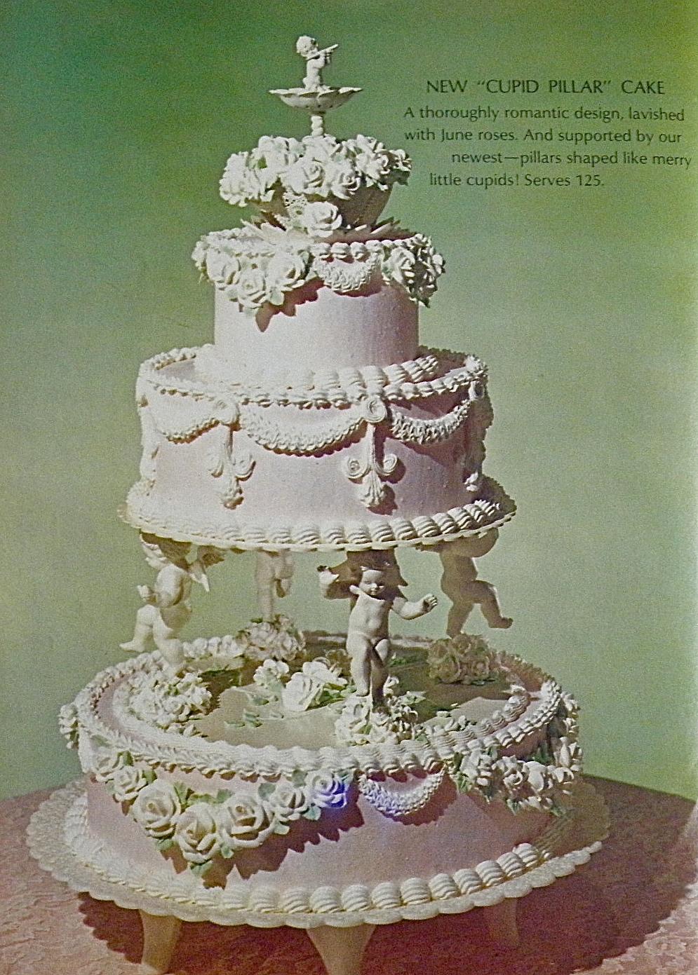 Vintage Wilton Wedding Cakes