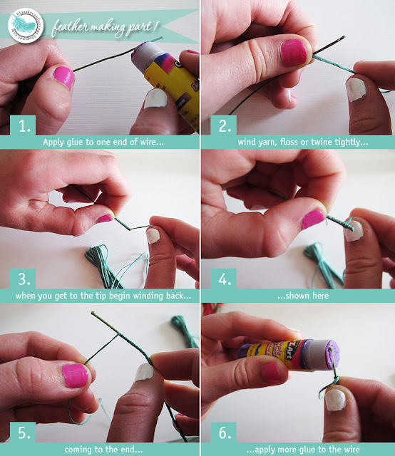 how to make a feather