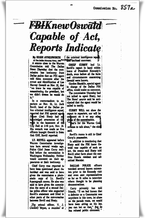 Quixotic Joust: News Traveled Fast on Nov. 22, 1963