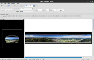 Shooting and Stitching Panoramas in Hugin - Step by step