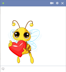 Bee Lovable Emoticon
