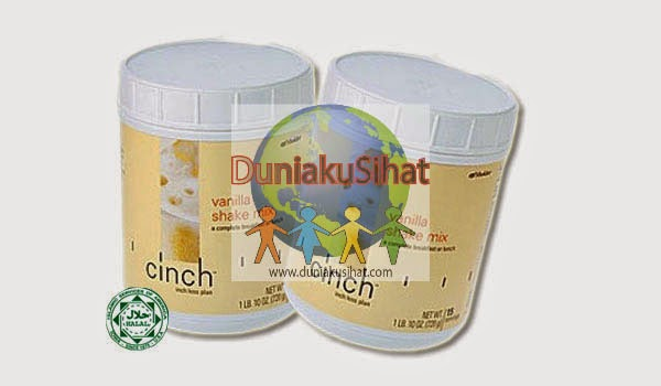 Shaklee Cinch Shake Mix (Canister) - Vanilla