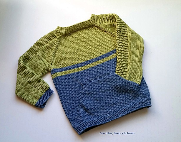 Con hilos, lanas y botones: Flax Light Pullover (pattern by Tin Can Knits)