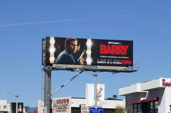 Barry season 1 billboard