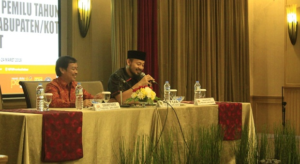 Ferdhiman Bariguna: Penyelenggara Pemilu Jangan Putus Asa!
