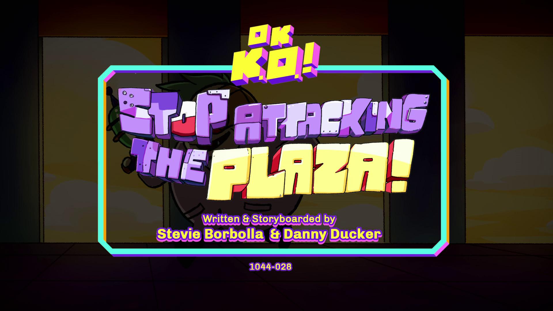 OK, K.O.! Vamos ser Heróis - Pare de Atacar a Praça