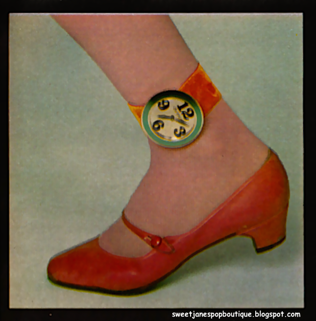 RICHARD LOFTUS 1960s OLD ENGLAND POP FASHION WATCH