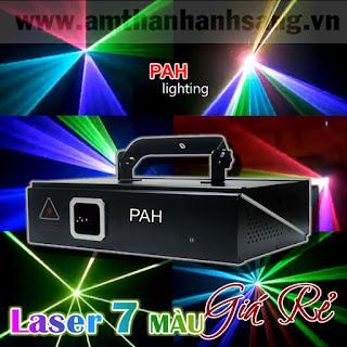 đèn laser 7 màu cho vũ trường