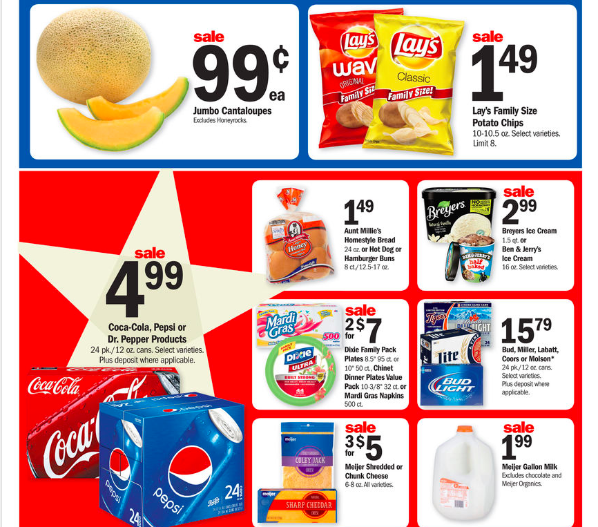 Meijer Ad Preview Starting 8/30!
