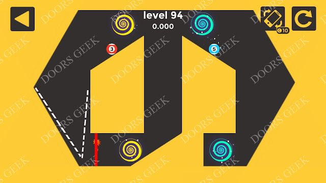 Ball & Ball Level 94 Solution, Walkthrough, Cheats for android and ios