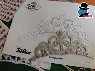 modello originale tiara la principessa