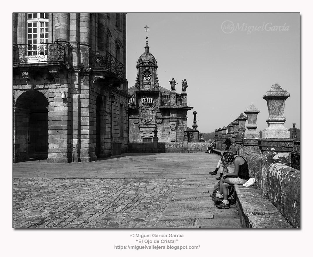 Plaza del Obradoiro (Santiago de Compostela).- Iglesia de las Cuatro Sotas.