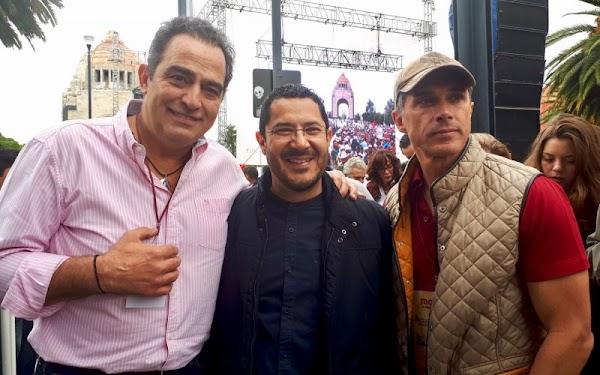 Los actores Omar Fierro y Sergio Meyer se unen a López Obrador