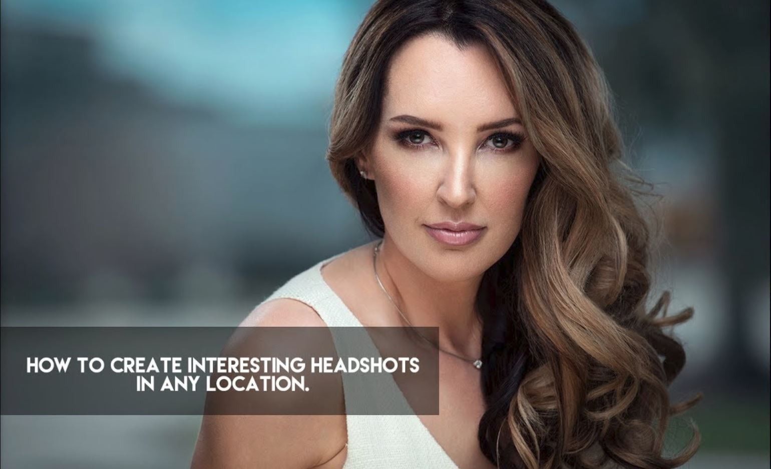 How to create interesting Corporate Headshots in any location.