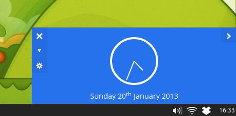 Clock: HTML5 Powered Desktop Clock Application, Install It on Ubuntu